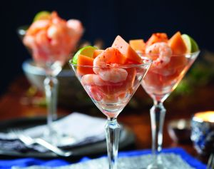 Give our tasty melon and prawn starter recipe a go this year for a tasty starter