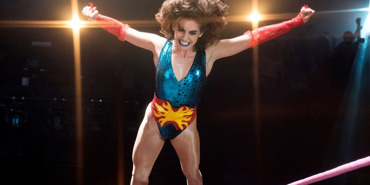 Alison Brie as Ruth Wilder on GLOW