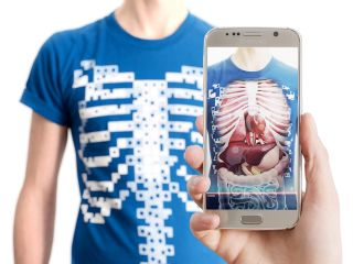 Virtuali-Tee is designed to teach kids about the inner workings of their bodies.