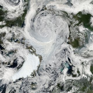 Arctic storm on Aug. 6, 2012