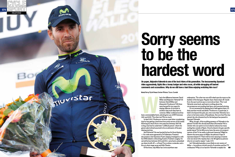 Sorry seems to be the hardest word - Cycling Weekly