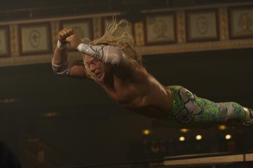 "The Wrestler - Mickey Rourke as wrestler Randy ""the Ram"" Robinson"