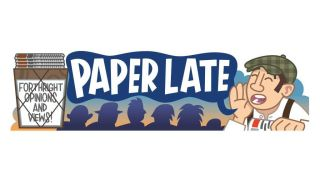 The paperlate logo illustration