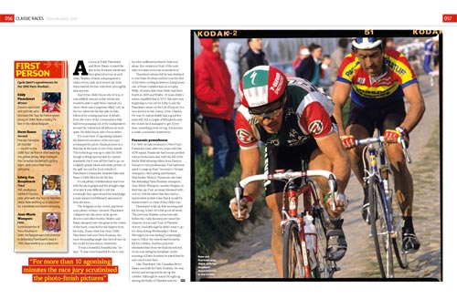 Great Races, Cycle Sport April 2010 issue