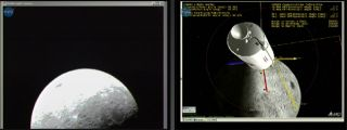 Live From the Moon: NASA Probe Beams Home New Lunar Views