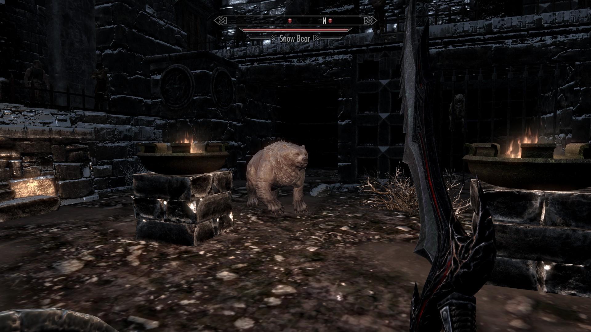 the best skyrim mods: faction: pit fighter