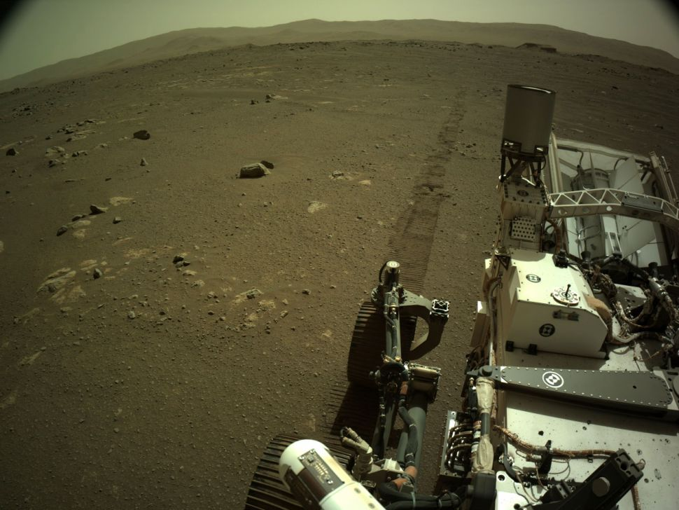 Perseverance rover records sounds of a drive in another Mars first (video)
