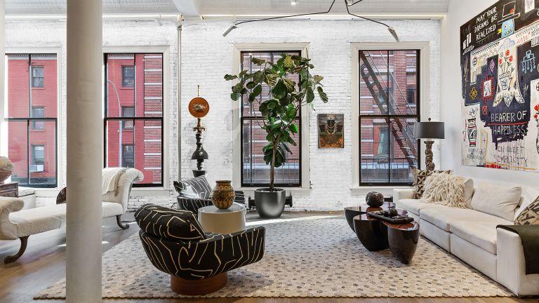 Sela Ward's Soho apartment, New York, loft, Manhattan, conversion, for sale