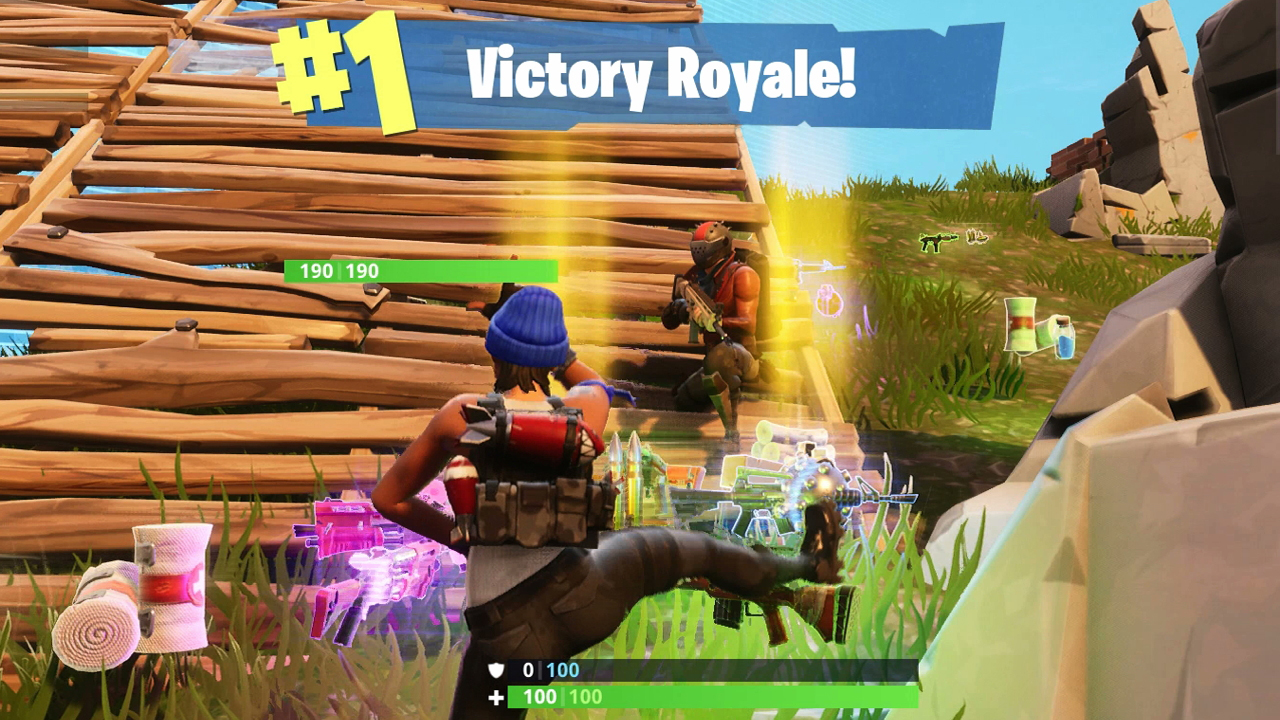 Image result for Fortnite overtime challenges victory royale