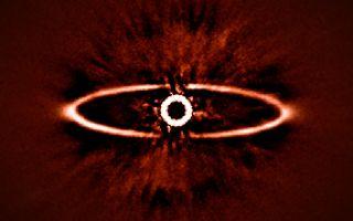 Dust Ring Around HR 4796A 1920