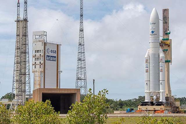 Ariane 5 Rocket Launching 2 Satellites Today: Watch It Live!