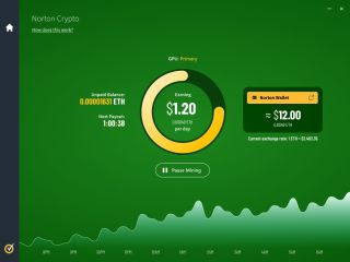 Norton Crypto Dashboard