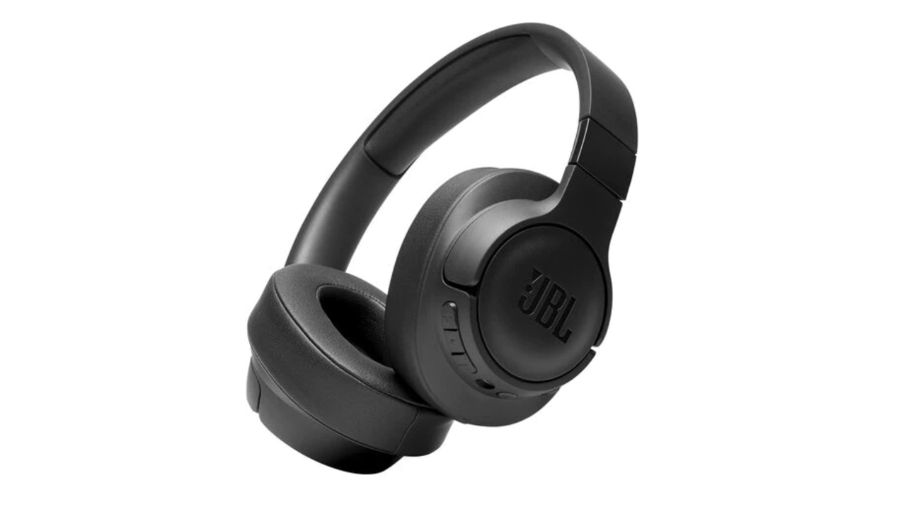 the jbl tune 750btnc wireless noise cancelling headphones in black