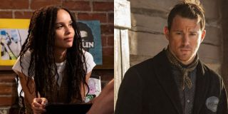 Zoe Kravitz in High Fidelity and Channing Tatum in The Hateful Eight