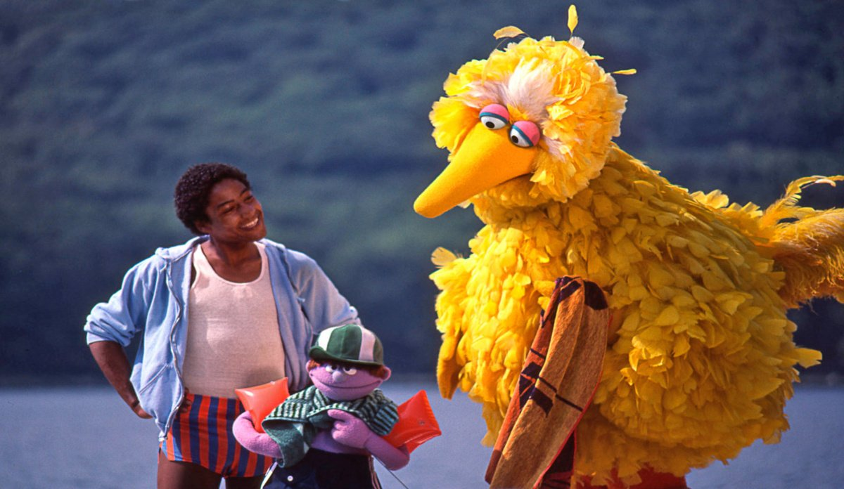 Giancarlo in Sesame Street