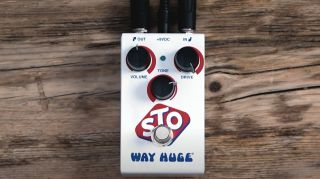 Way Huge's new STO overdrive pedal in action