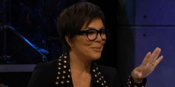 Kris Jenner The Late Late Show with James Corden