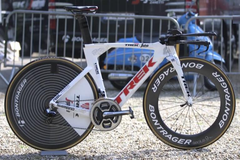 fabian cancellara trek speed concept time trial bike