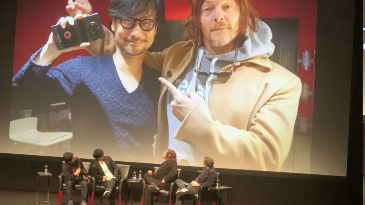 "Hideo Kojima chats Death Stranding with Norman Reedus: ""Everyone is playing it together... everyone will be connected"""