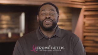 fuboTV Jerome Bettis Breast Cancer Research
