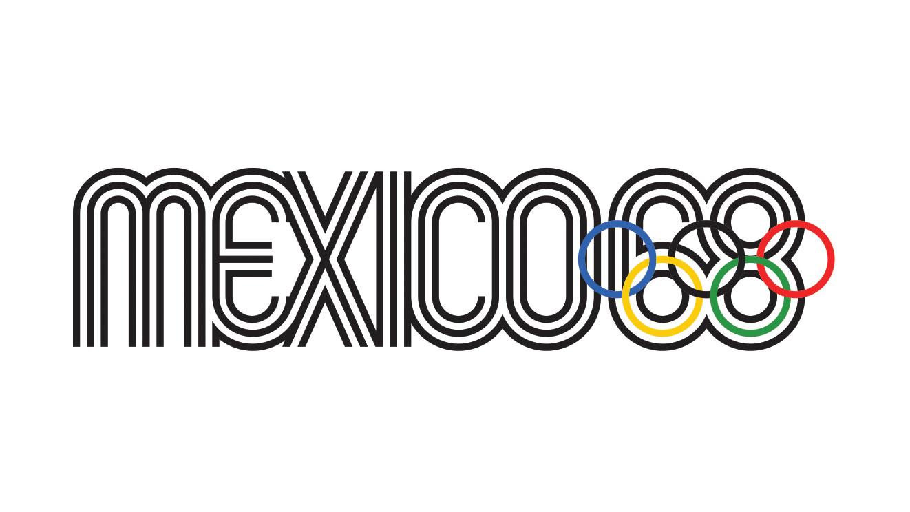 Mexico 1968 logo
