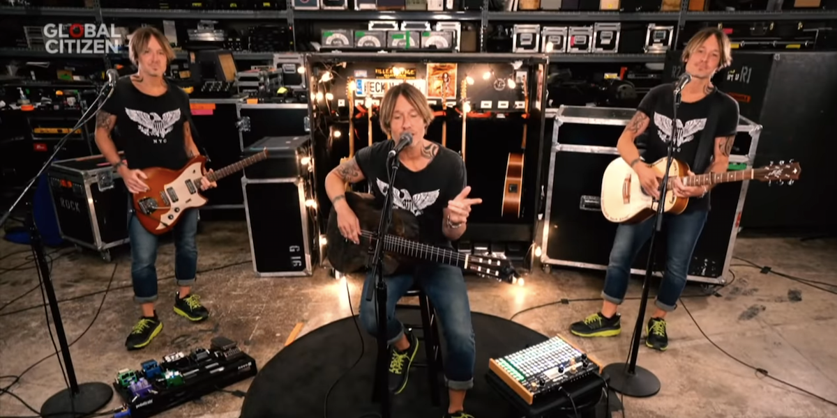 keith urban one world together at home