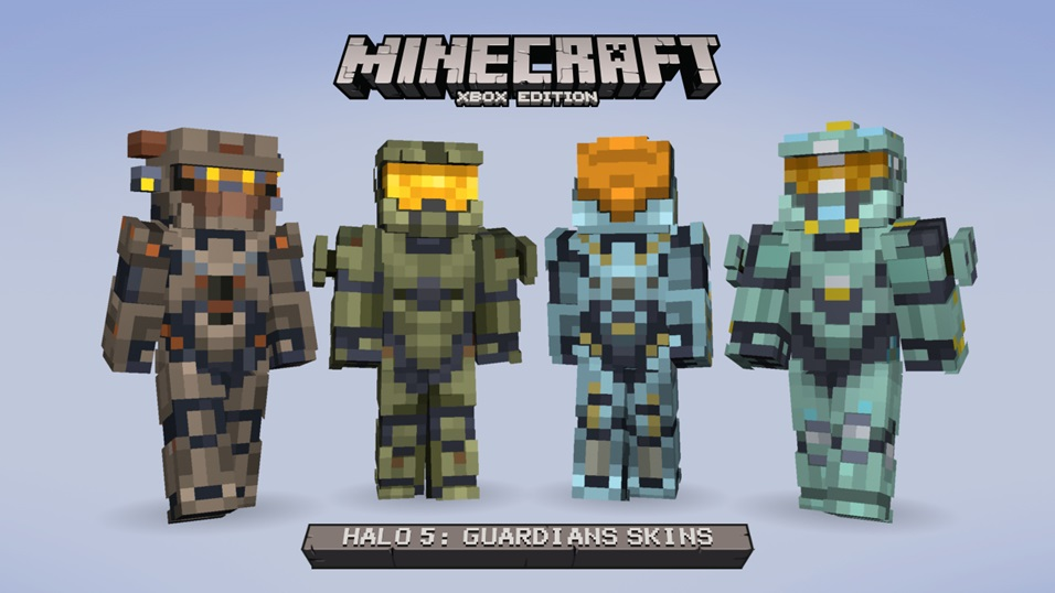 Minecraft Xbox One And Xbox 360 Will Receive Halo 5