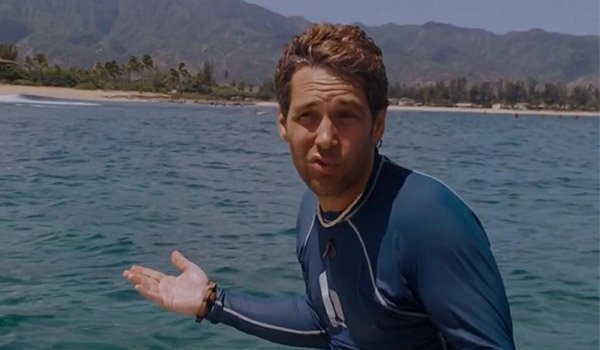 Paul Rudd in Forgetting Sarah Marshall and will star in the new Ghostbusters