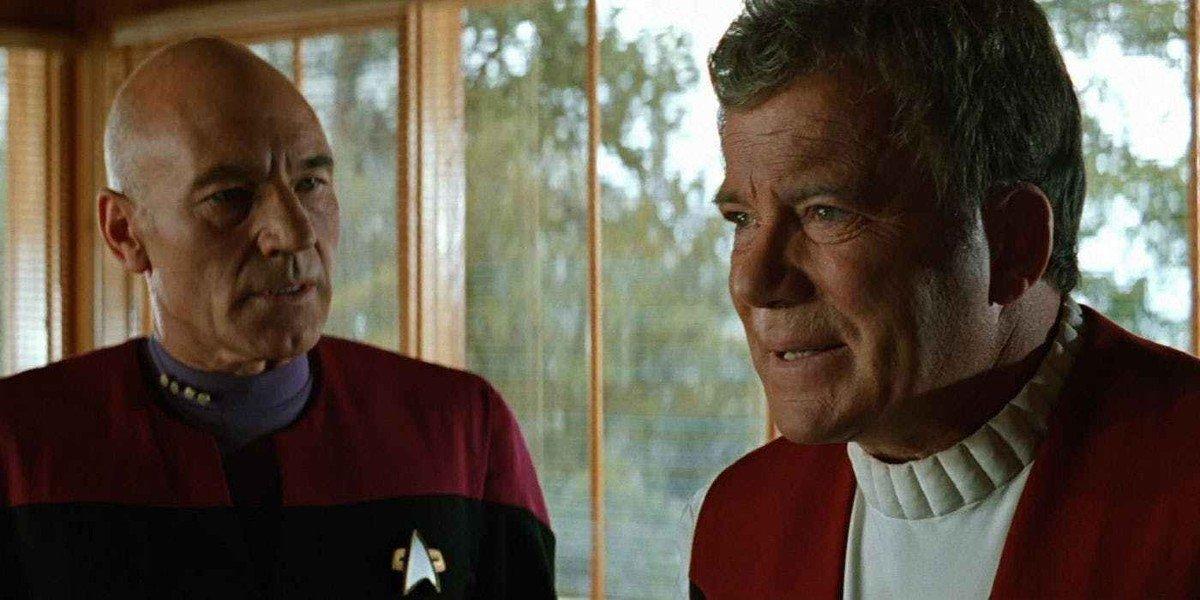 Patrick Stewart, William Shatner - Star Trek: Generations