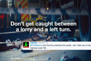 Twitter reacts to the Government's 'desperately misguided' cycle safety campaign (video)