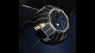The research satellite Prospero is the only British spacecraft to launch on the British-built Black Arrow rocket.
