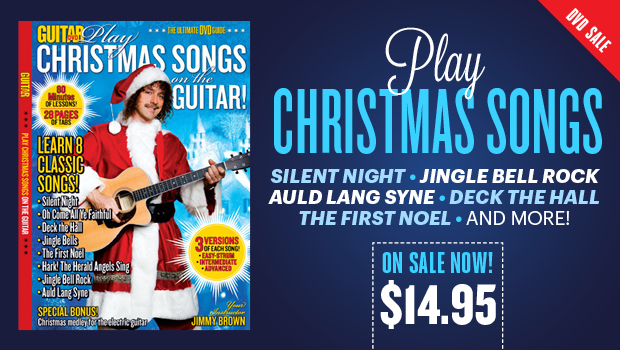guitar world dvd learn to play eight classic christmas songs guitarworld - Classic Rock Christmas Songs