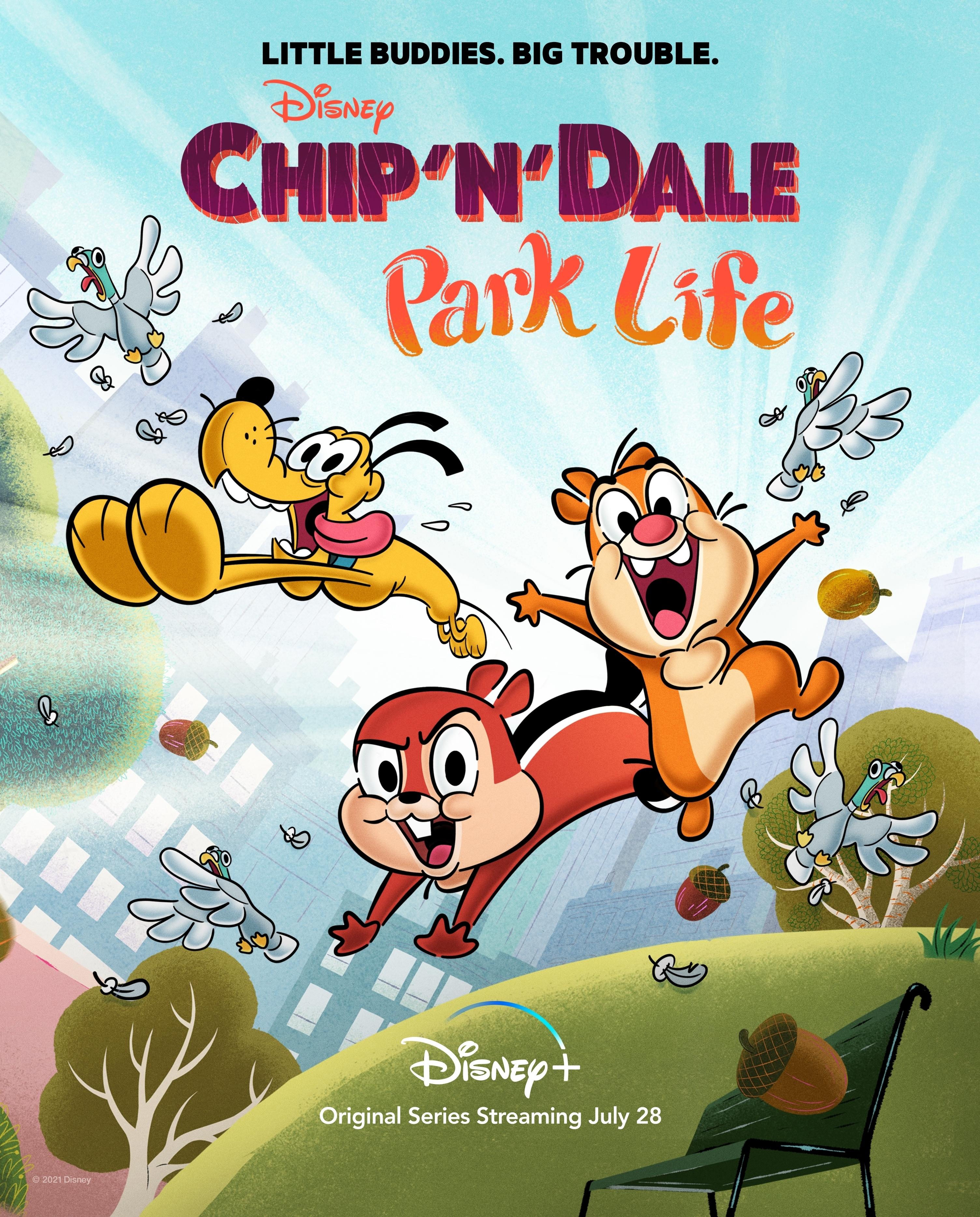 Diviértete más con Chip 'N' Dale.