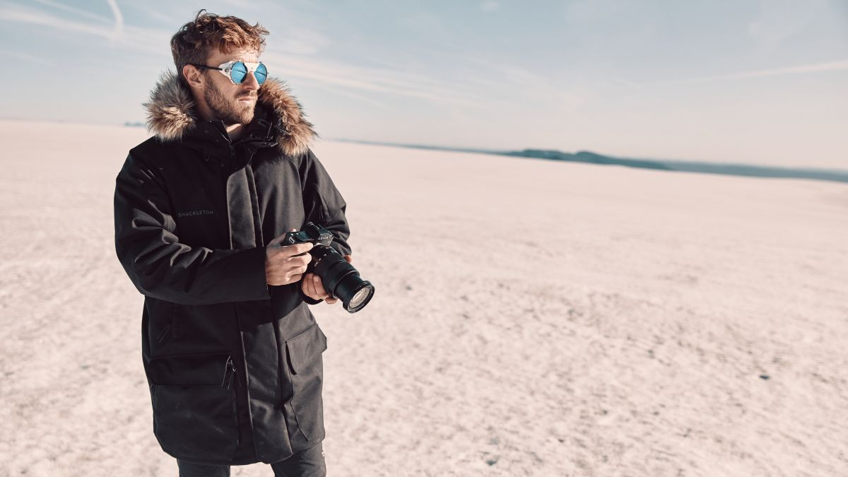 This winter jacket from Shackleton is exactly what every adventure photographer needs