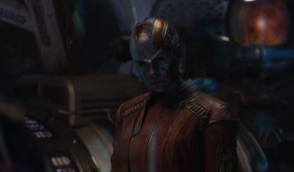 Karen Gillan as Nebua in Avengers: Endgame