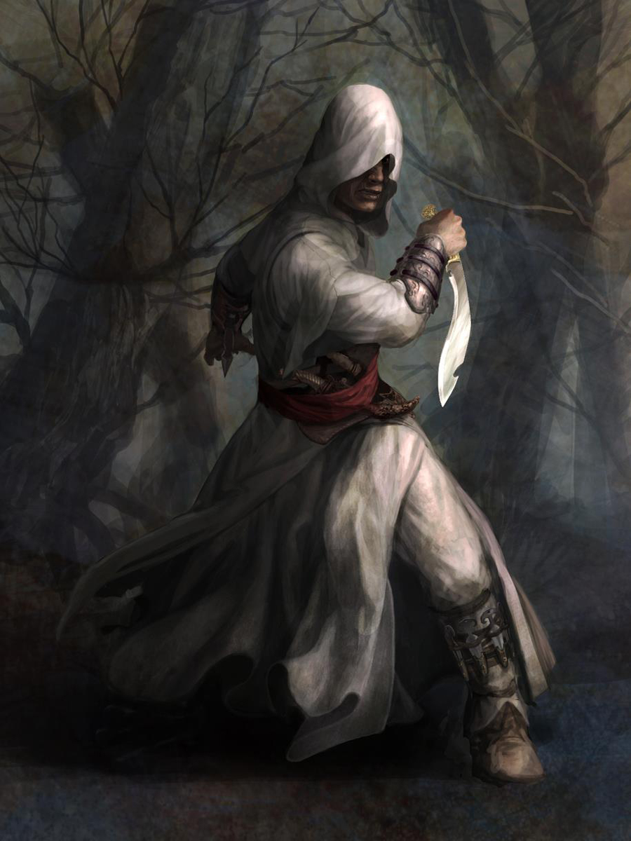 Assassin S Creed Concept Art Showcases Female Protagonist