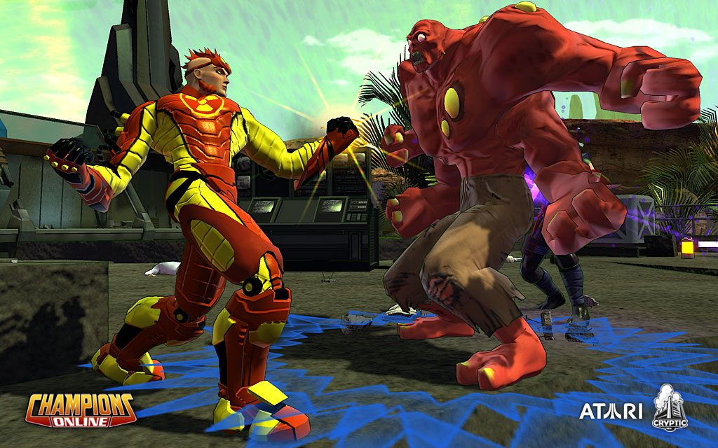 Champions Online Screenshots: Gun-Slinging Pimps And Four-Armed Freaks #7805