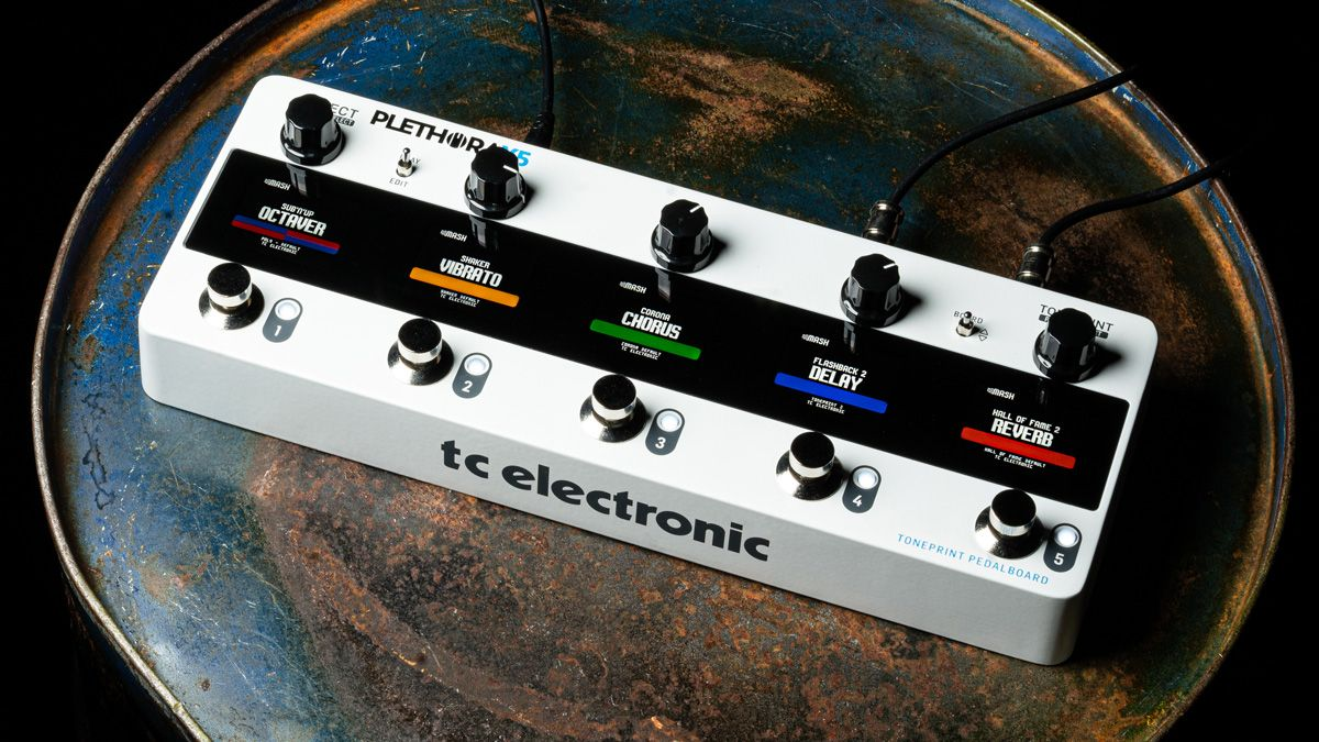 TC Electronic's Plethora X5 TonePrint Pedalboard might just be the multi-effects pedal you've been waiting for