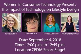 WiCT Presents 'The Impact of Technology on Lifestyle Design' at CEDIA 2018