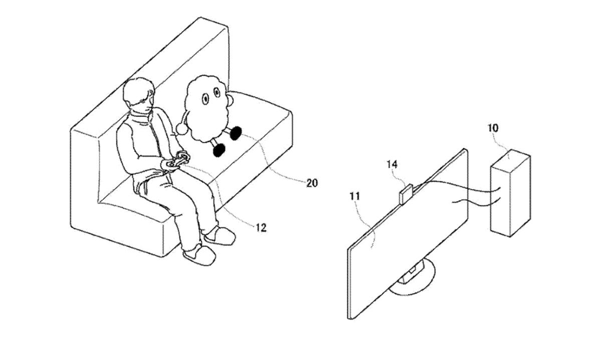 Sony gaming robot buddy