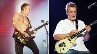 Phil Collen and Eddie Van Halen