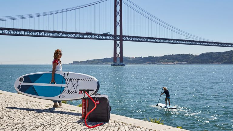 best paddle board for beginners: Red Paddle Co 11'0 Compact