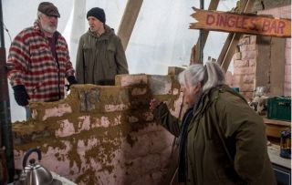 The house that Zak and Sam built… Lisa fumes at her family's sloppy efforts to repair Wishing Well