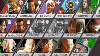 Apex Legends dataminers make a lovely select screen for 10