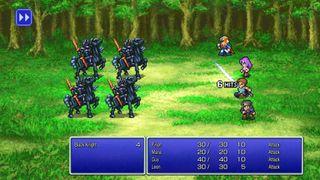 It's Final Fantasy, but in pixel form
