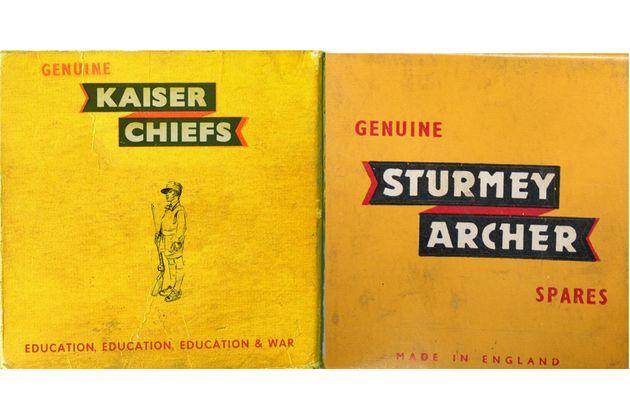 Kaiser Chiefs and Sturmey Archer artwork