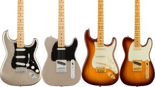 Fender is celebrating its 75th anniversary with new, commemorative Strats and Teles