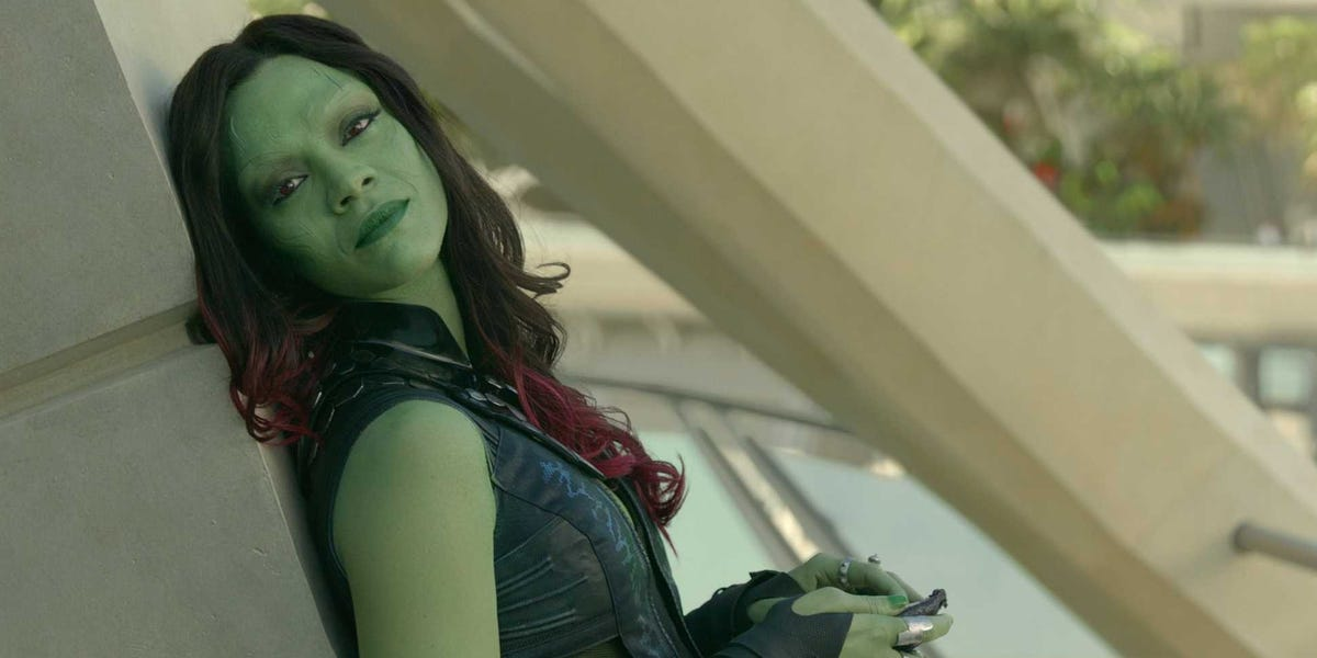 Gamora in Guardians of the Galaxy
