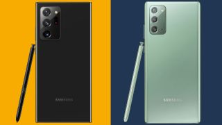 Samsung Galaxy Note 20 versus