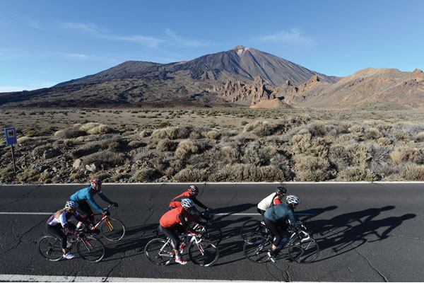 Cycling in Tenerife